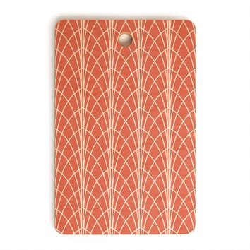 Heather Dutton Arcada Persimmon Cutting Board Rectangle