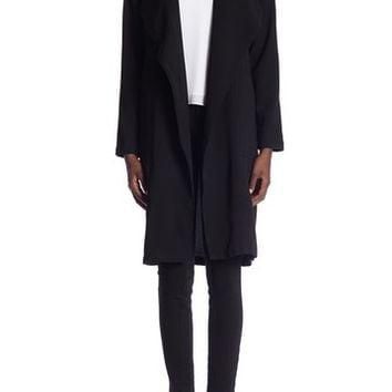 Elodie | Long Sleeve Drape Trench Coat | Nordstrom Rack