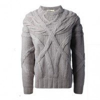 Deco Cable Sweater