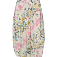 ISOLDE ROTH | Floral print balloon maxi skirt | navabi