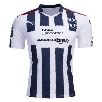 Mexico Monterrey 2016/17 Home Men Soccer Jersey Personalized Name and Number