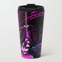 Hidden Face Metal Travel Mug by ES Creative Designs