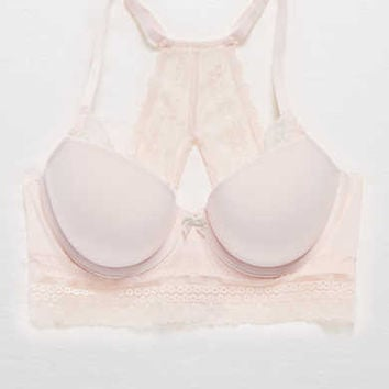 Blakely Longline Lightly Lined Bra, Ballet Pink