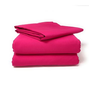 Tache 2-3 Piece Pink Superstar Bed sheet (Fitted Sheet)