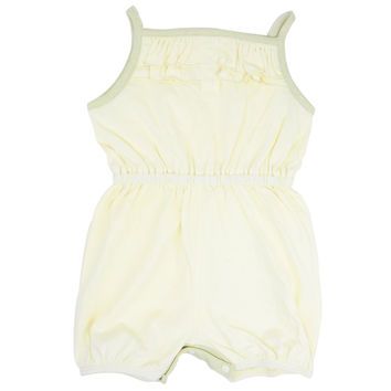 Baby Girls Summer Sleeveless Shortalls BEIGE