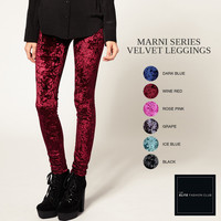 TEFC Marni Series Velvet Leggings