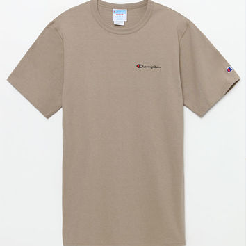 Champion Small Script Applique T-Shirt at PacSun.com