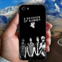 5 Second Of Summers Poster - Print on hard plastic case for iPhone case. Select an option
