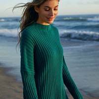 Silence + Noise Hunter Cutout Mock Neck Sweater - Urban Outfitters