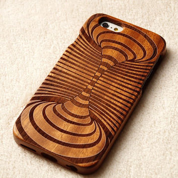 natural  Carving wood case Wood iPhone 6 case, waves of the sea iphone 6plus wood case, iphone 5 case, iphone 5c case,iphone 4 case