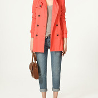 DOUBLE BREASTED TRENCH COAT - Trench coats and parkas - Collection - Woman - ZARA United States