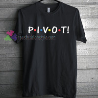 Friends TV Show Pivot T-Shirt gift Tees adult unisex custom clothing Size