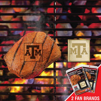 Texas A&M Aggies NCAA Fan Brands Grill Logo(2 Pack)