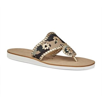 Captiva Sandal in Camo & Platinum by Jack Rogers