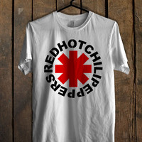 Red Hot Chili Peppers Logo T Shirt Mens T Shirt and Womens T Shirt *