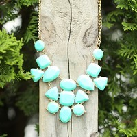 Part To Play Necklace in Turquoise