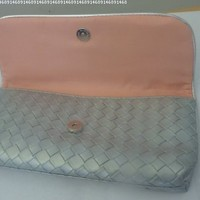 Estee Lauder Silver Beautiful Makeup Bag