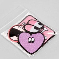 Lazy Oaf Pink Patch Pack