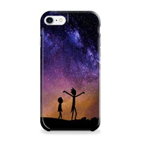 Rick and Morty Space Nebula iPhone 7 | iPhone 7 Plus Case