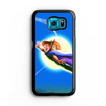 peter pan tinkerbell Samsung S6 s5 s4 S3 Case, Note 3 4 5 Case, iPhone 6s 5s 5c 4s Cases, iPod case, HTC case, Xperia Z3 case, LG G3 Nexus case, iPad cases