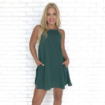 Greener On The Other Shift Dress