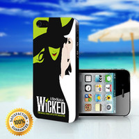 New Musical Wicked - For iPhone 4/4s, iPhone 5, iPhone 5s, iPhone 5c case. Please choose the option