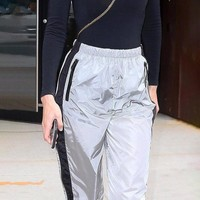 Hot Sale Silver Pants [212030390298]
