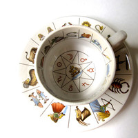 Fortune Telling Tea Cup Great Vintage Set