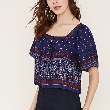 Paisley Print Top | Forever 21 - 2000186913