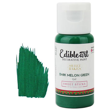 Dark Melon Green Edible Paint