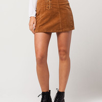RSQ Lace Up Corduroy Skirt | Short Skirts