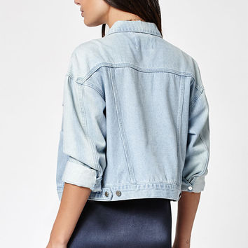 OBEY Lemmy Denim Trucker Jacket at PacSun.com