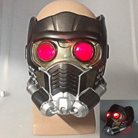 Cos Guardians of the Galaxy Helmet Cosplay Peter Q