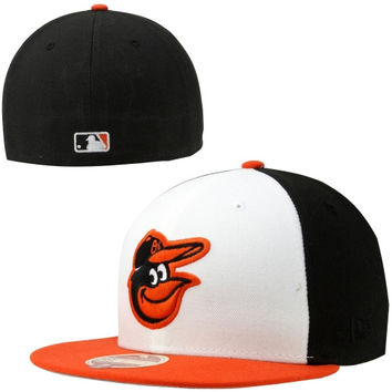 New Era Baltimore Orioles Classic Wool 59FIFTY Fitted Hat - Black/White