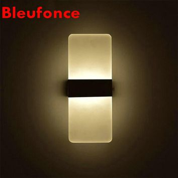 Creative 3W LED Wall Lamp Bedroom Bedside Living room Hallway Stairwell Balcony Aisle Balcony Lighting AC85-265V NB02