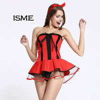 Women Baby Dolls Sexy lingerie Set Halloween Christmas Lingerie Sexy Uniform Cosplay Clothes Sex Products Underwear Sex Toy