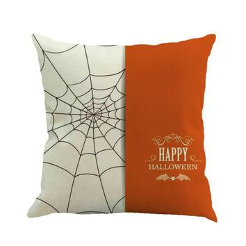Halloween Decorative Pillow Case .