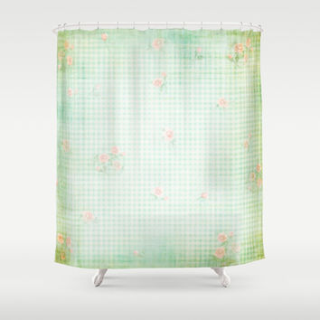 Vintage Roses Shower Curtain by MJB photo design