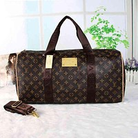 LV Women Travel Bag Leather Luggage Travel Bags Tote Handbag