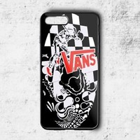 Top Vans Red Logo Shoes Best Case For iPhone 6 6+ 6s 6s+ 7 7+ 8 8+ X Cover