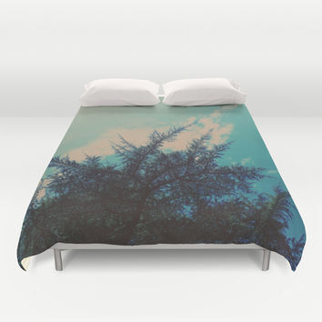 Go With The Flow Duvet Cover by DuckyB (Brandi)