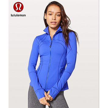 """Lululemon"" Fashion Print Exercise Fitness Gym Yoga Sports Jacket"
