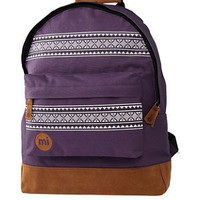 Mi-Pac Purple Nordic Backpack