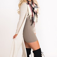 Fuel The Fire Duster Cardigan (Ivory)
