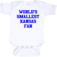 World's Smallest Kansas Fan Onesuits