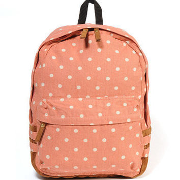 J. Carrot Polka Dot Back Pack - South Moon Under