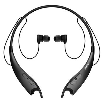 Wireless Bluetooth Headphones, Headset Stereo Neckband Sport Earbuds with Mic & Call Alert