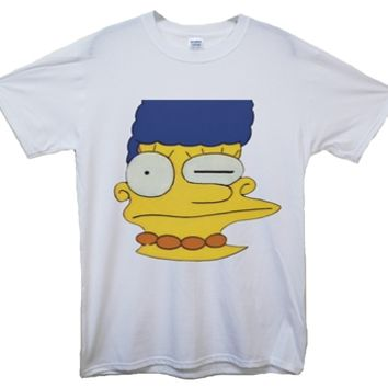 Misprinted Marge Simpson T-Shirt
