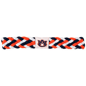 Auburn Tigers NCAA Braided Head Band 6 Braid