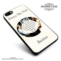 Pierce The Veil Song Lyrics Band case cover for iphone, ipod, ipad and galaxy series
